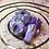Thumbnail: Sleepy Dice Dragon - light purple/white swirl/pearl