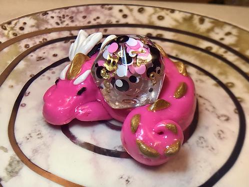 Polka Pink- Sleepy Dice Dragon