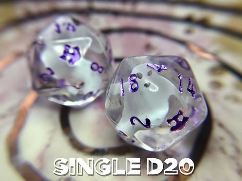 Ghosty Glitter- Single d20