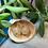 Thumbnail: Pearl and Gold d20- Handmade Dice Earrings