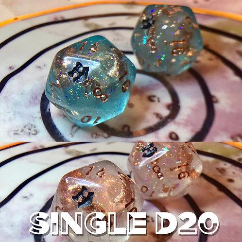 Thermal Teal- Single d20