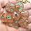 Thumbnail: Peachy Green- 7pc dice set