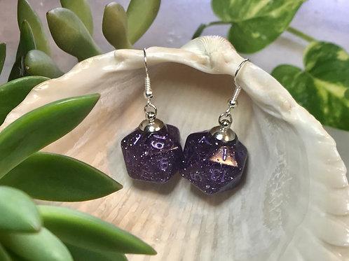 Star Stuff-Handmade Dice Earrings