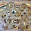 Thumbnail: Pearl and Gold- 7pc Dice Set