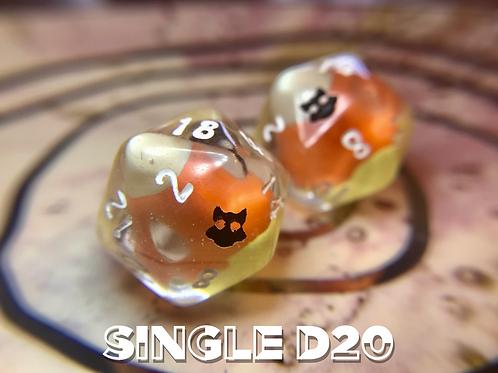 Candy Corn - Single d20