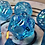 Thumbnail: Blue Iridescent Silver Ink - 7pc dice set