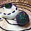 Thumbnail: Sleepy Dice Dragon- white/purple/green