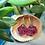 Thumbnail: Pink/black bats d20- Handmade Dice Earrings