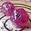 Thumbnail: Pink Iridescent Starbursts- Single d20