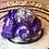 Thumbnail: Sleepy Dice Dragon- dark purple swirl/white