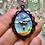 Thumbnail: Mini UFO Alien Abduction Pendant Necklace