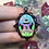 Thumbnail: Mini UFO Alien Abduction Pendant Necklace