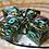 Thumbnail: Laser Light Show teal ink- d6 - 4pc set