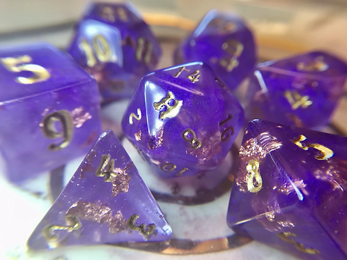 Moon Gang - 7pc dice set