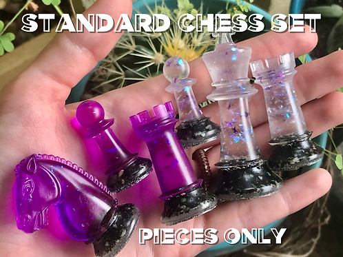 FULL Standard Chess Set Pieces Only