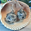 Thumbnail: Spotlight confetti d20- Handmade Dice Earrings