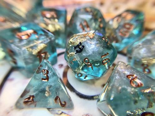 Frozen Treasure- 10pc Dice Set