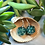 Thumbnail: Sprinkles confetti d20- Handmade Dice Earrings