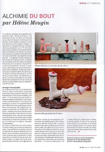 article La revue de la ceramique et du v