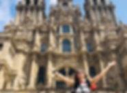 Angekommen in Santiago de Compostela!_Ga