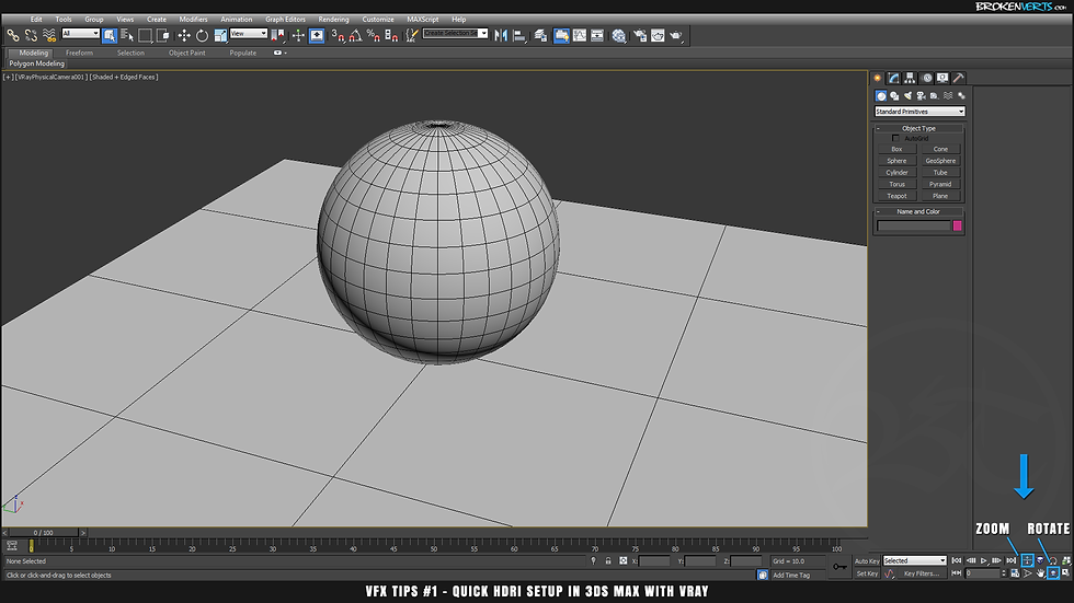 3ds Max V-Ray IBL Tutorial Ben Tate VFX Tips CG 3D Brokenverts.com