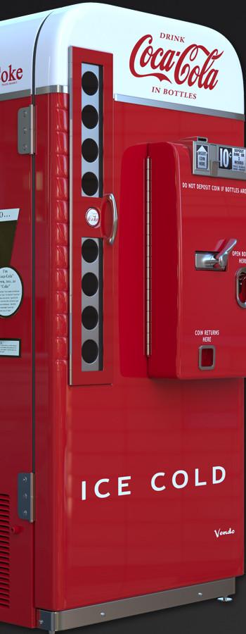 1950's Vendo Coke Machine (2014)