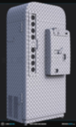 1950s Vendo Coke Vending Machine 3ds Max UVs Unwrap | Ben Tate | 3ds Max V-Ray Photoshop | 3d CG VFX