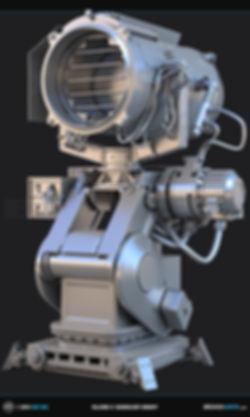 Killzone Searchlight Concept  3D Model | Ben Tate | 3ds Max V-Ray |3d CG VFX