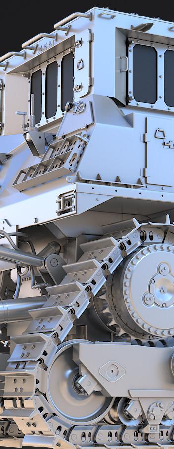 D9R Armored Bulldozer (2015)
