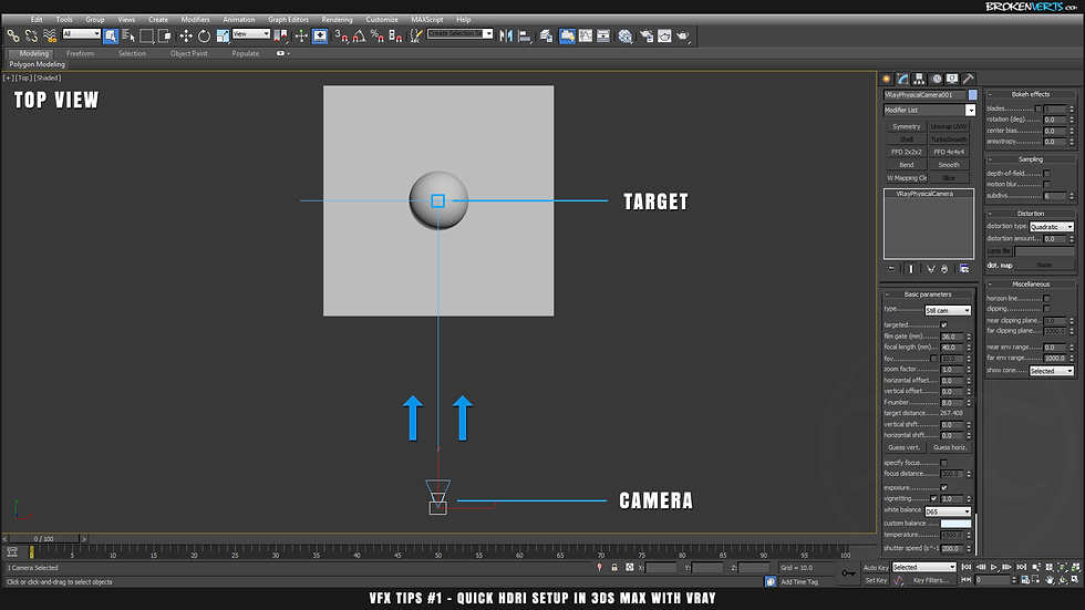 V-Ray IBL Tutorial Ben Tate VFX Tips CG 3D Brokenverts.com 3ds Max