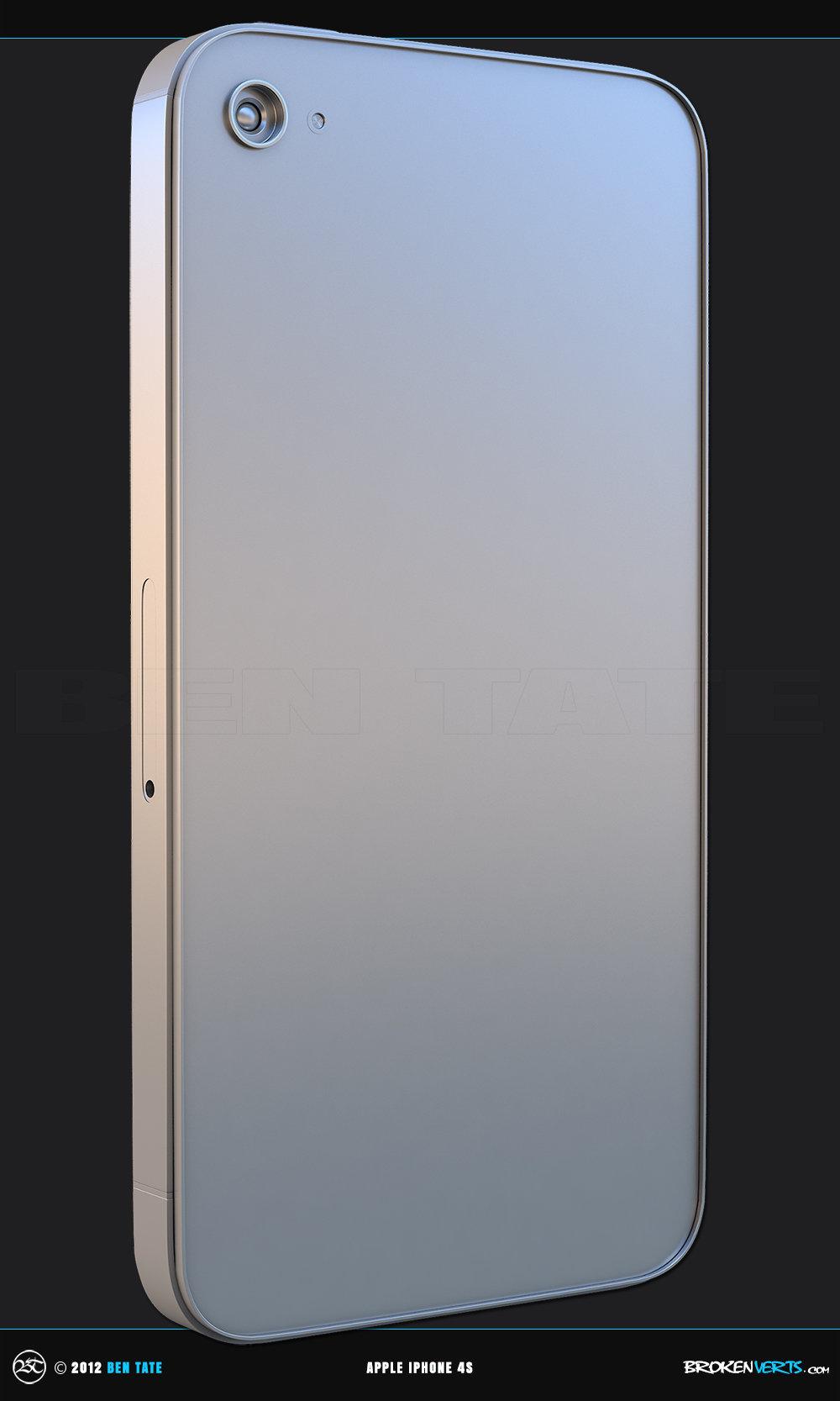 Apple iPhone 4S 3D Model | Ben Tate | Megan Fox | 3ds Max V-Ray Photoshop |3d CG VFX