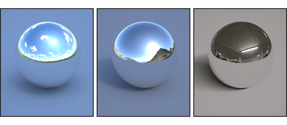 HDRI Examples V-Ray 3.6 3ds Max Tutorial Ben Tate VFX Tips CG 3D Brokenverts.com