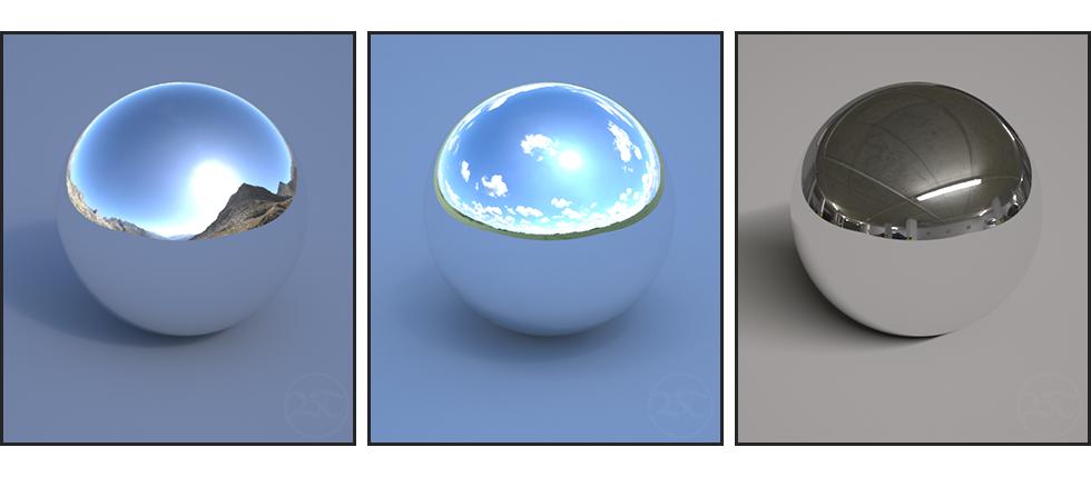 HDRI Examples V-Ray 3ds Max Tutorial Ben Tate VFX Tips CG 3D Brokenverts.com 3ds Max