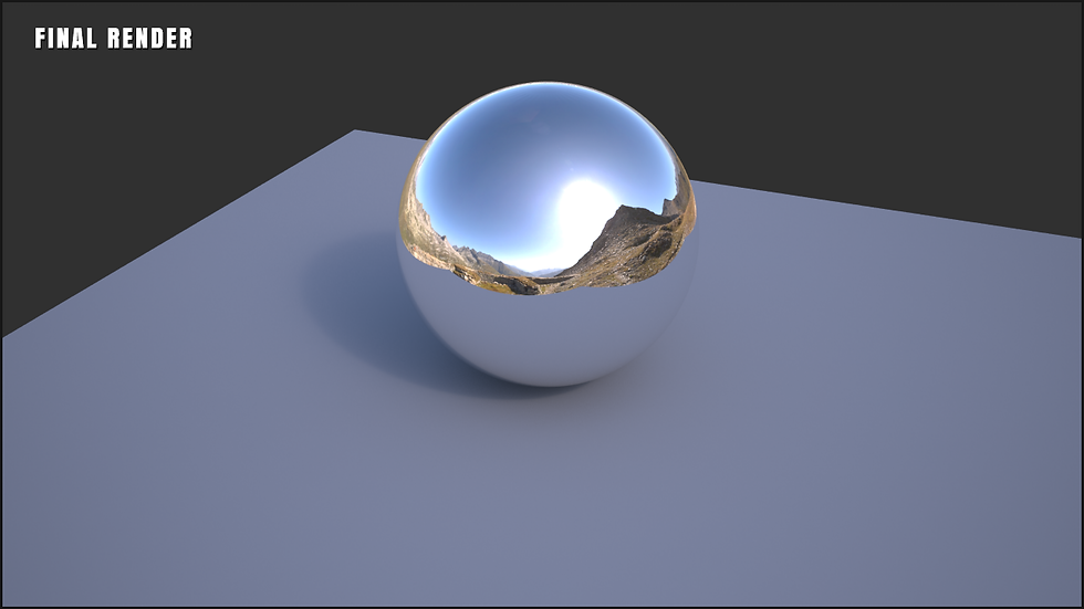 V-Ray Chrome Ball Tutorial Ben Tate VFX Tips CG 3D Brokenverts.com 3ds Max