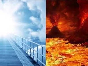 The concept of heaven and hell
