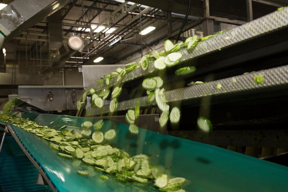 Customize Sliced Cucumbers