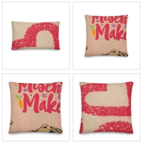 Mischief Makers Pillow & Pillowcase