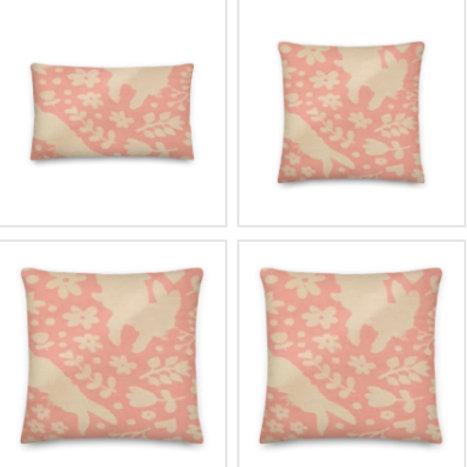 Silhouette Peter Rabbit Pillow & Pillowcase