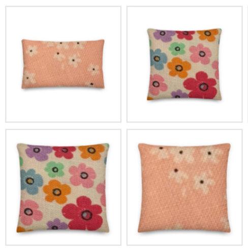 Flower Pillow & Pillowcase