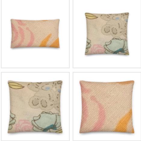 Tatty Teddy Pillow & Pillowcase