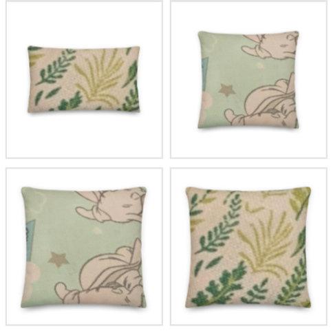 Dumbo Pillow & Pillowcase in Vibrant Colours