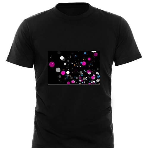 Mens Astract Printed T Shirt