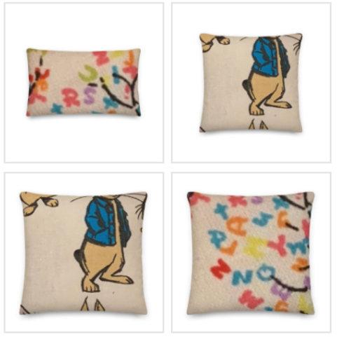 ABC Peter Rabbit Pillow & Pillowcase