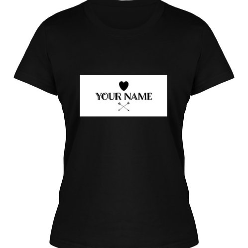 Personalised Women's Named T-Shirt 2