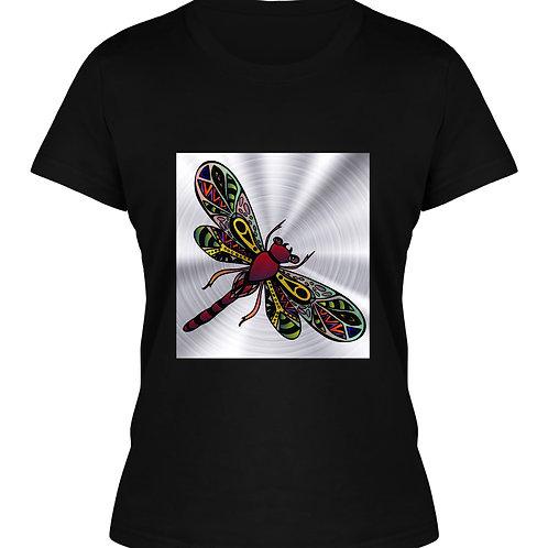 Girls Dragonfly Printed T-Shirt