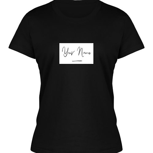 Personalised Women's Named T-Shirt3
