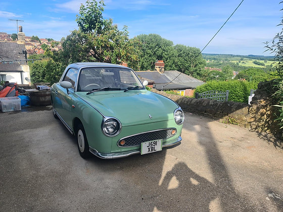 Nissan Figaro - Emerald Green 19,000 Miles