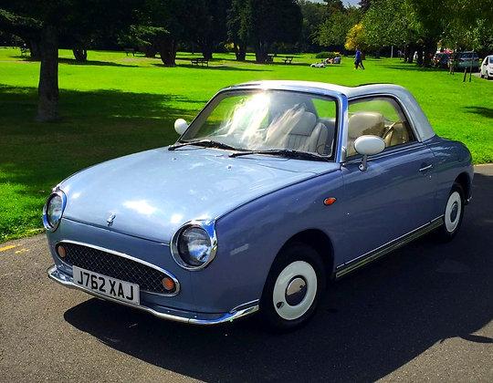 Nissan Figaro - Lapis Grey 40,000 Miles