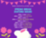 Violet and Pink Rabbit Illustrated Easte