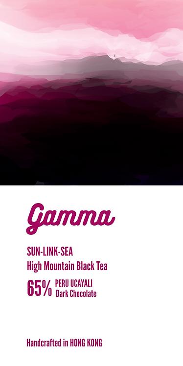 Sun-Link-Sea High Mountain Black Tea 65% Dark Chocolate - 40g